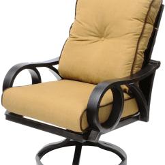 Patio Swivel Rocker Chairs Ikea Bar Channel Cast Aluminum Outdoor Chair Walmart Com