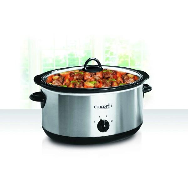 Crock-pot Stainless Steel 5 Quart Slow Cooker