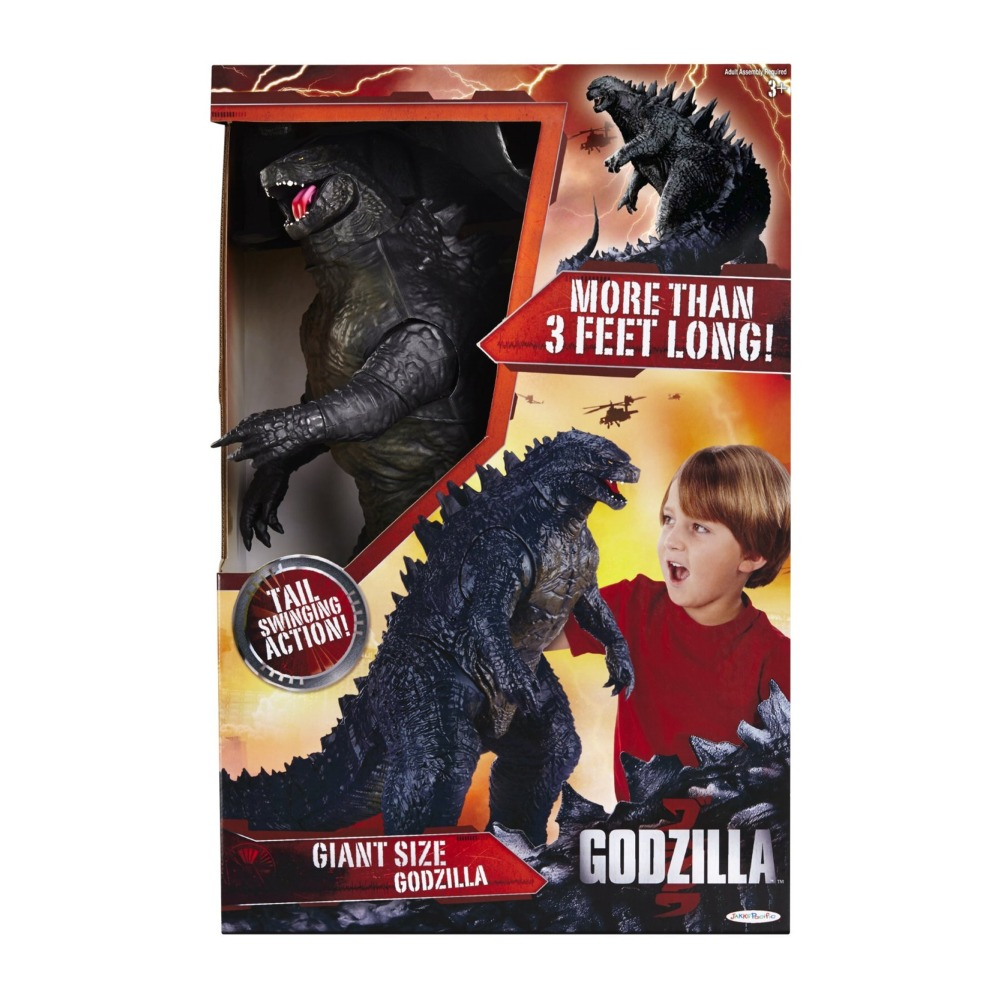 Giant Size Godzilla Action Figure  Walmartcom