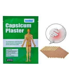 girl12queen capsicum plaster shoulder joints back pain relief cervical spine disease sticker walmart com [ 1001 x 1001 Pixel ]