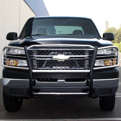 small resolution of for 02 06 chevy avalanche with cladding front bumper protector brush grille guard chrome 03 04 05 walmart com