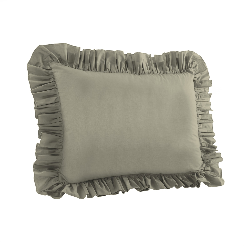 Ruffled Pillow Sham  Walmartcom