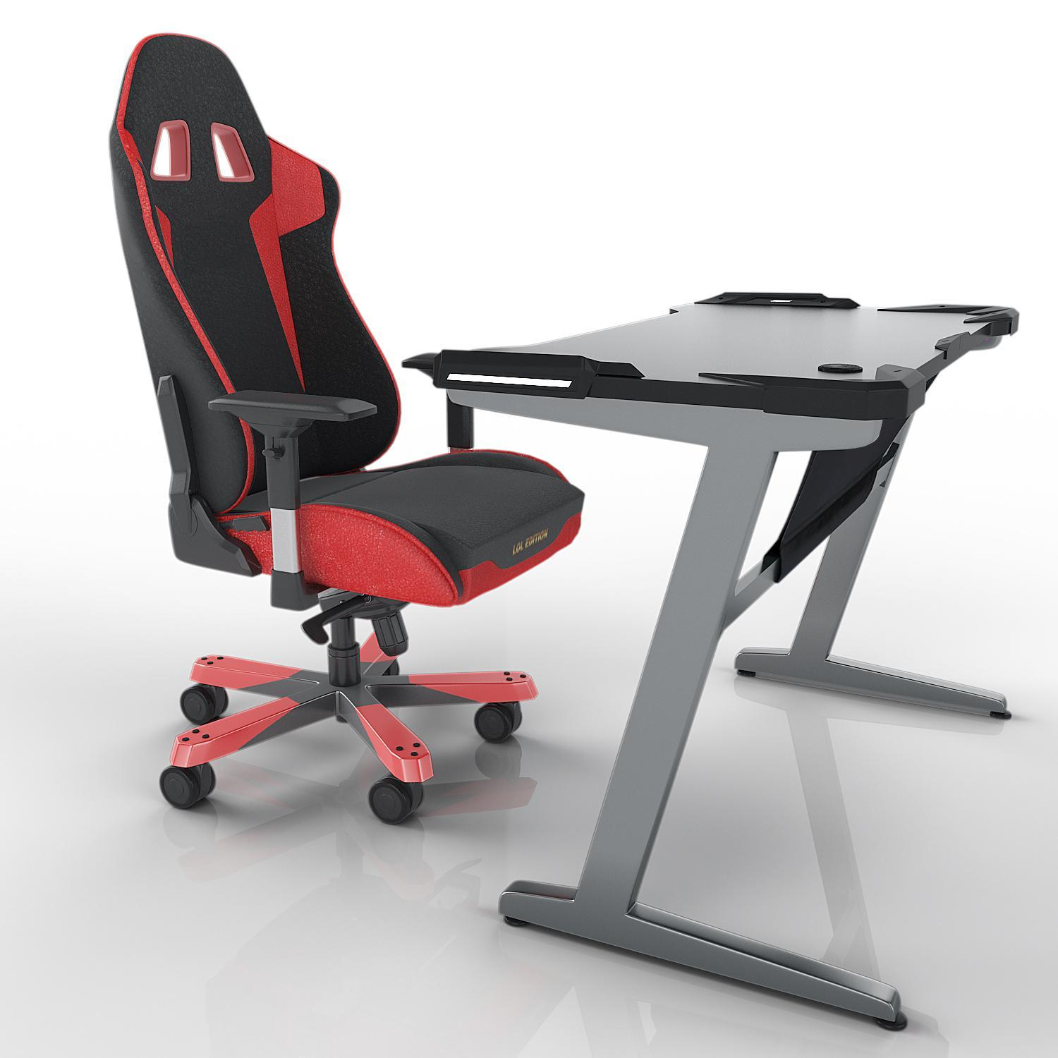 z shaped high chair and table rental quality abs atlantic gaming desk ergonomic comfortable departments