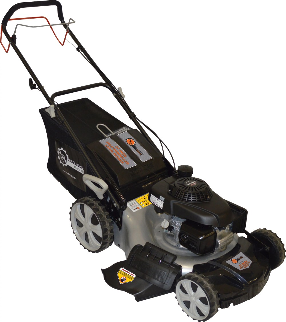 medium resolution of dht 21 self propelled lawn mower with honda gvc160 engine