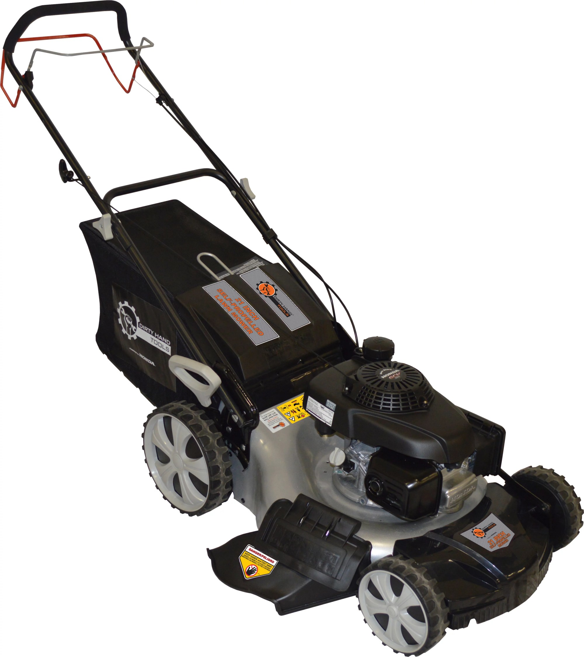 hight resolution of dht 21 self propelled lawn mower with honda gvc160 engine
