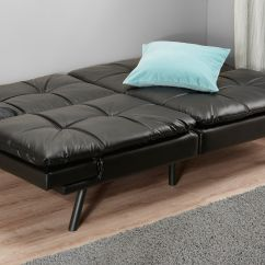 Mainstays Sofa Sleeper With Memory Foam Stainless Steel Legs Futon Beds Mattress Included