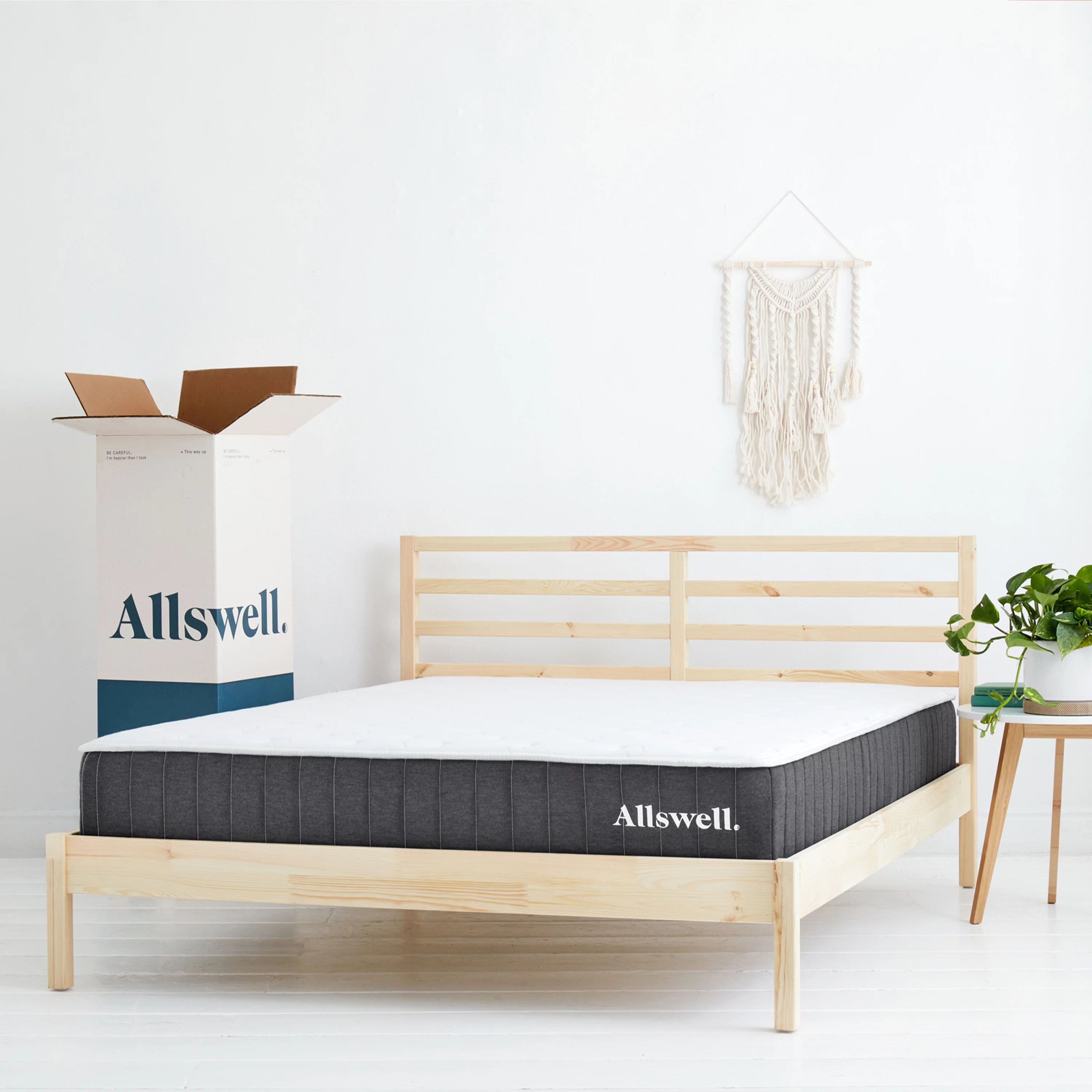 The Allswell 10 Inch Bed in a Box Hybrid Mattress - Queen ...