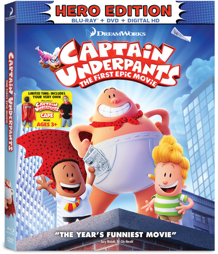 Captain Underpants The First Epic Movie Hero Edition