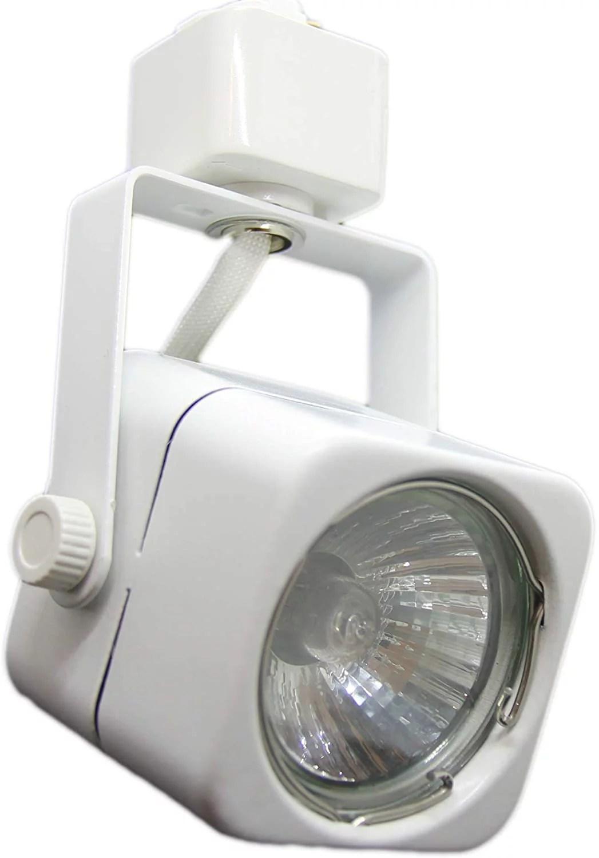 noram lighting 2 wire lt track light replacement head adjustable 50 watt gu10 track lighting fixture best choice