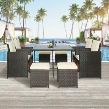 enyopro 9 piece patio furniture