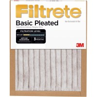 Filtrete Basic Pleated Air and Furnace Filter, Available ...