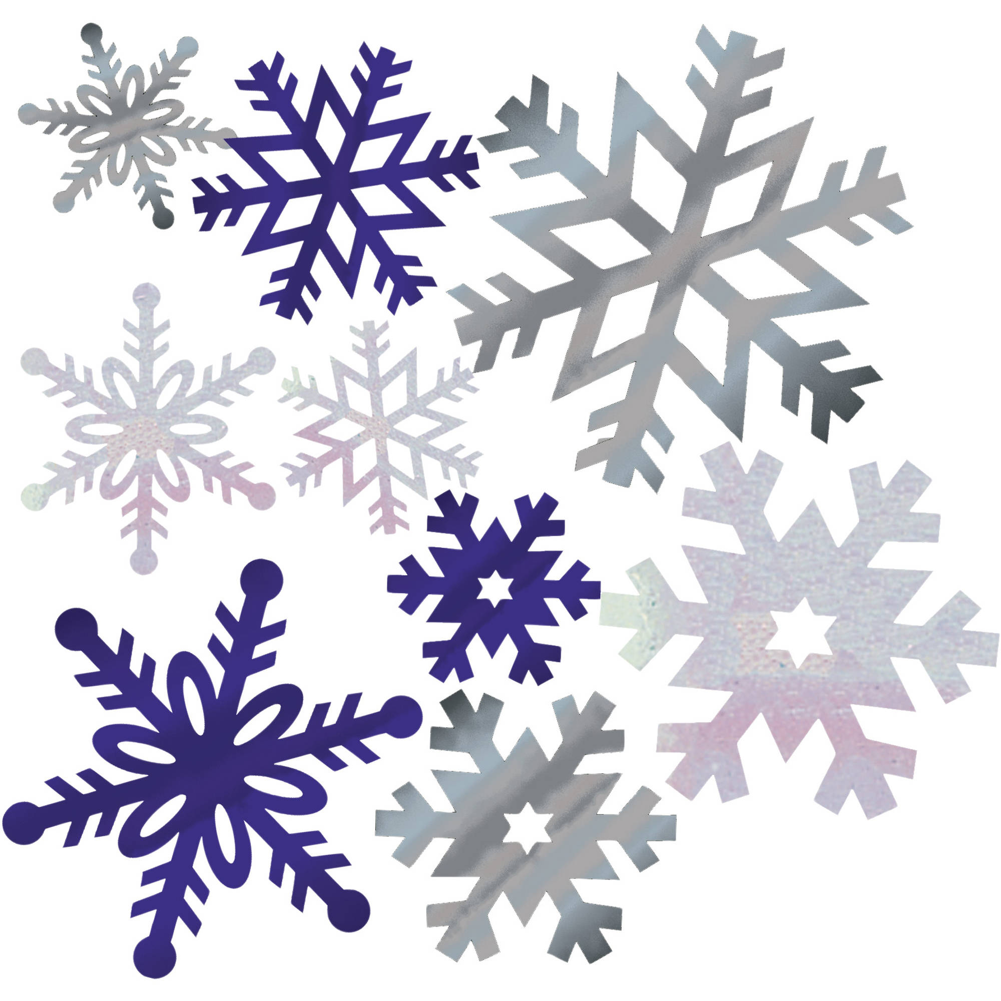 Snowflake Cutout Assortment 12 Pack