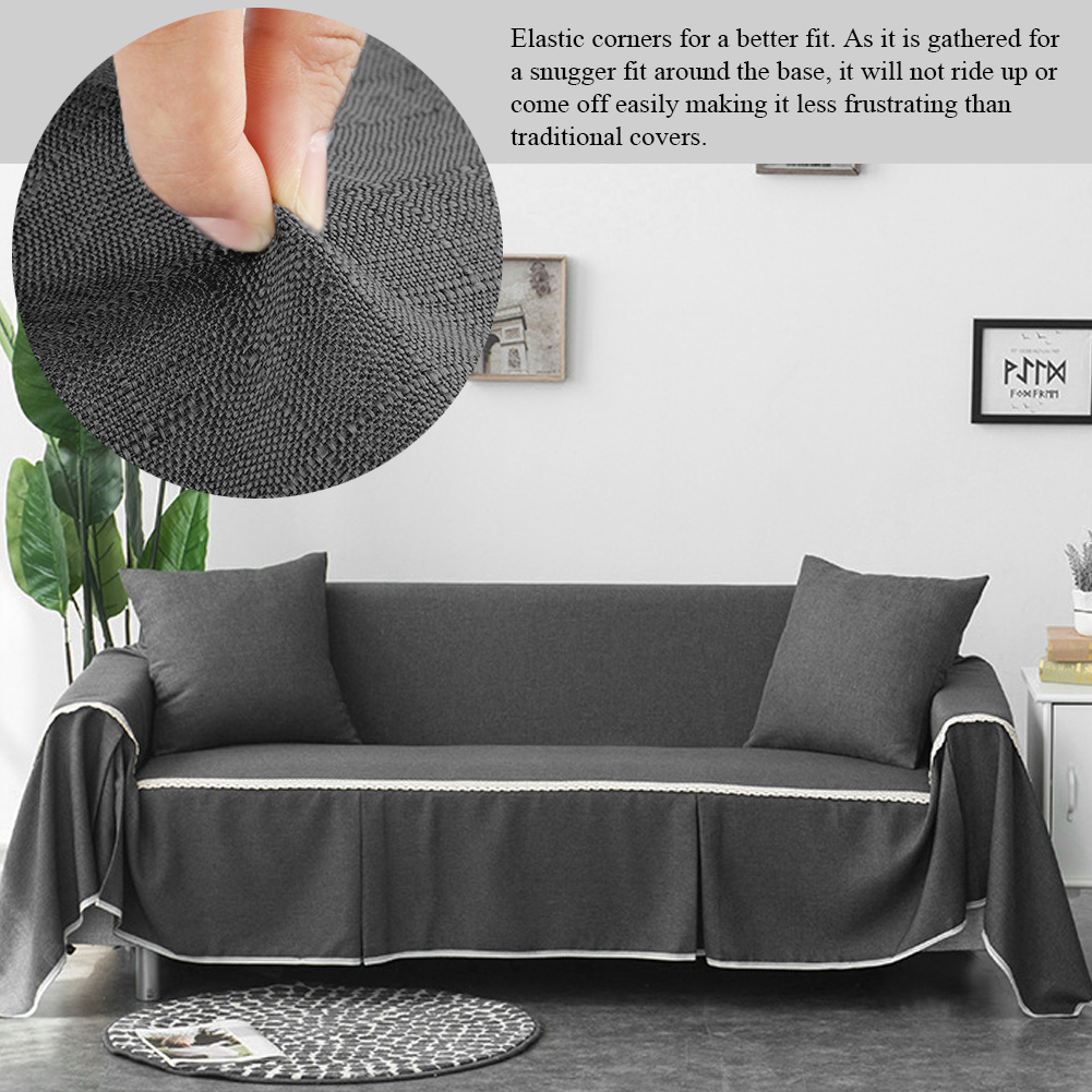 yosoo 1 2 3 4 seat anti slip sofa cover for leather sofa slip resistant furniture protector couch cover for dogs features anti slip pad
