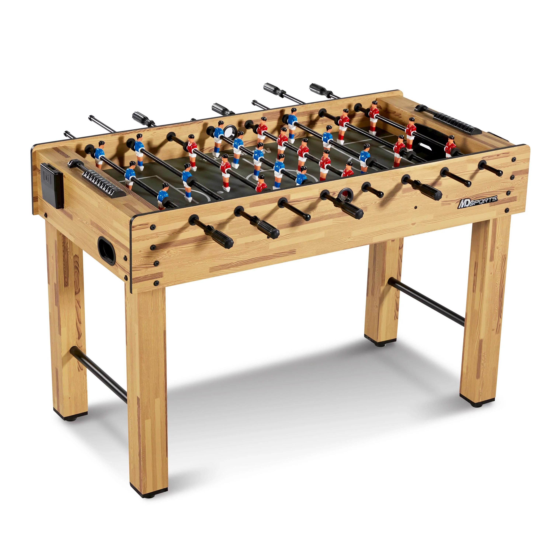 md sports 48 inch foosball soccer table walmart com