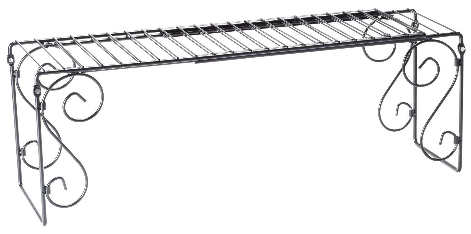 WalterDrake Expandable Over the Sink Shelf, Expand your