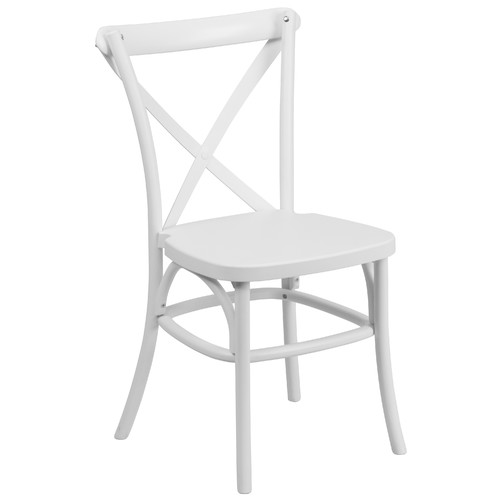 cross back dining chairs white how to make a wing chair slipcover flash furniture resin in walmart com