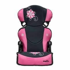 Booster Chairs For Kids Hanging Chair Nz Evenflo Big Kid Sport High Back Car Seat Danica Walmart Com