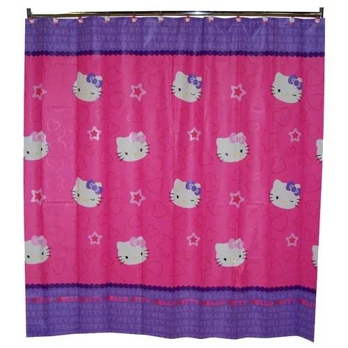 Hello Kitty Shower Curtain Walmart Com