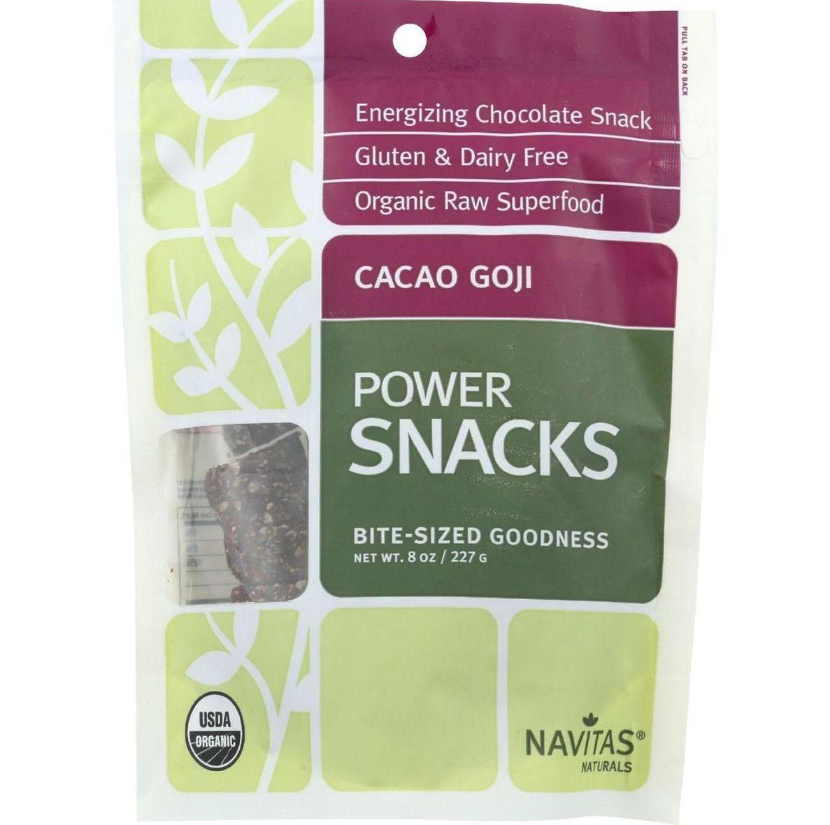 Navitas Naturals Snacks Organic Power Cacao Goji 8