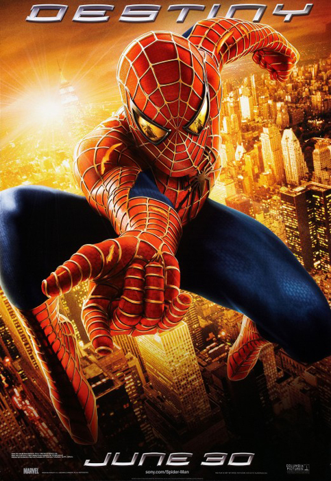 spider man 2 marvel movie poster print advance style destiny spiderman size 27 x 40