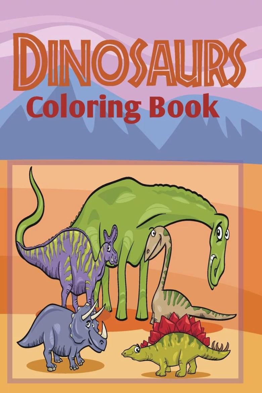 dinosaurs coloring book - walmart
