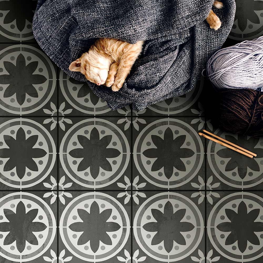 primavera tile stencil large size 12x12 tile walmart com