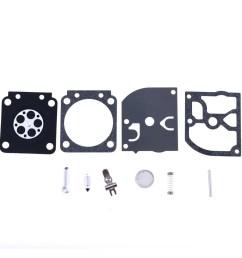new zama rb 41 for husqvarna 343r 345rx 345f 345fx 345fxt carburetor kit by genuine zama rb 41 oem carburetor repair kit by hilitchi walmart com [ 1001 x 1001 Pixel ]
