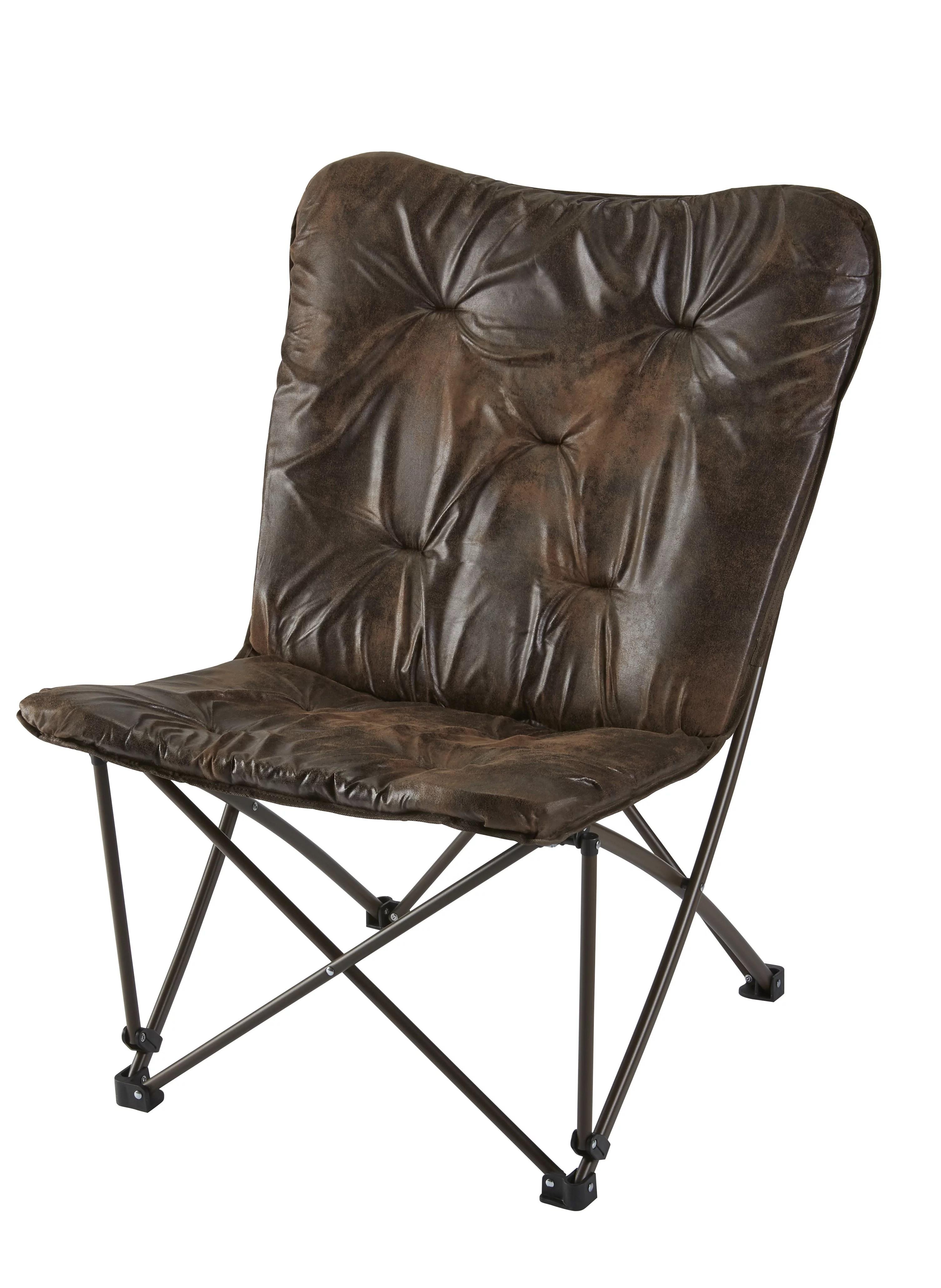 Mainstays Memory Foam Folding Butterfly Lounge Chair