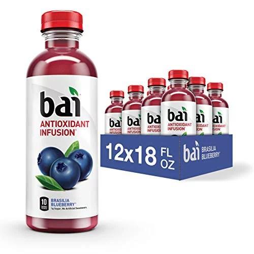 Bai Flavored Water Brasilia Blueberry Antioxidant ...