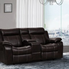 Tribecca Home Eland Black Bonded Leather Sofa Set Seabury Leatherette 3 Piece Recliner Love Seat Amazing Grey Dual