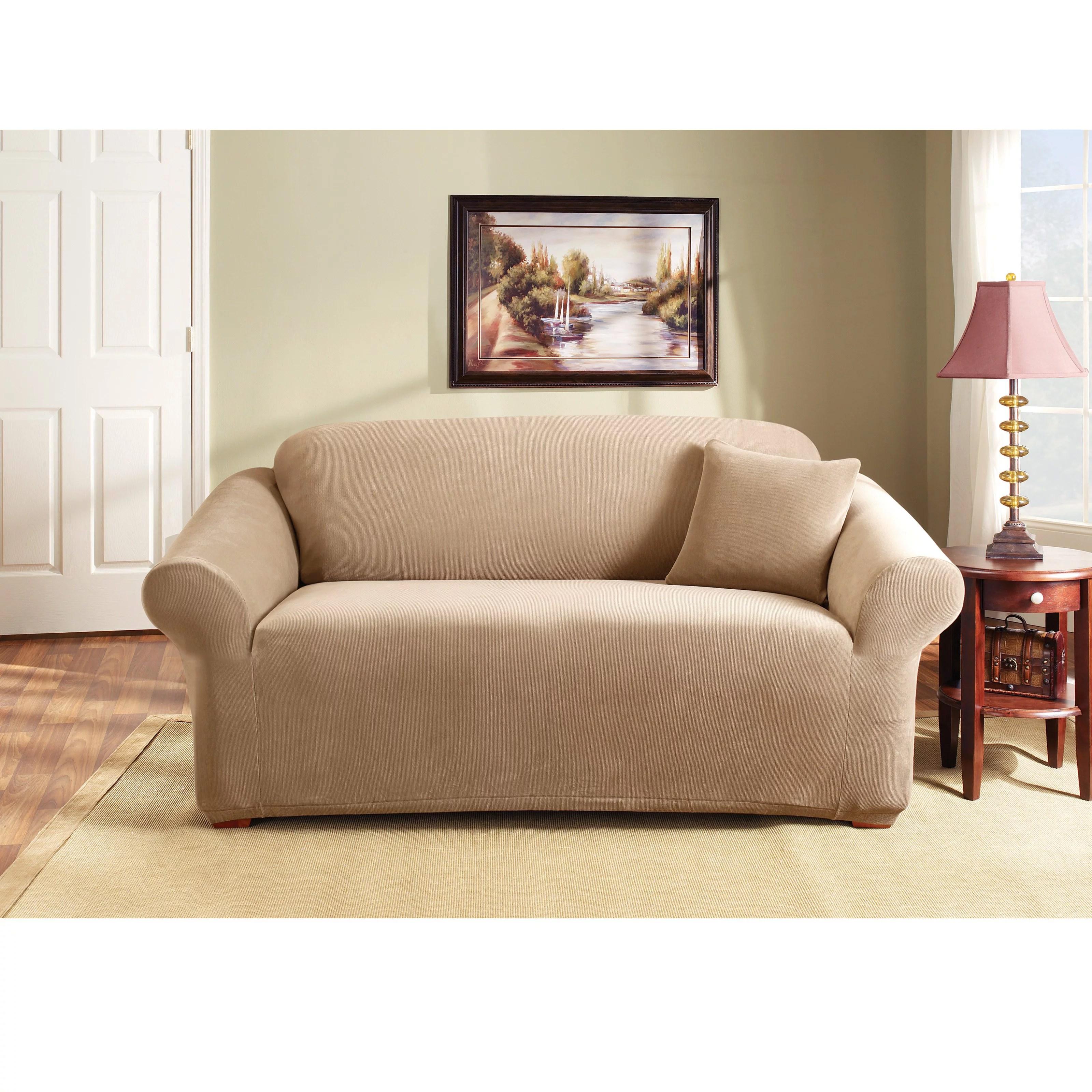 sure fit stretch pearson 3 pc sleeper sofa slipcover full recliner repairs in bangalore coffee walmart com