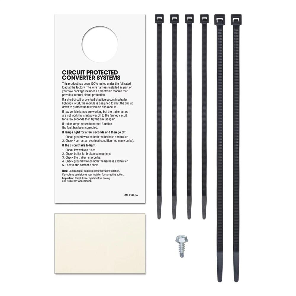 medium resolution of curt manufacturing 56222 custom wiring harness