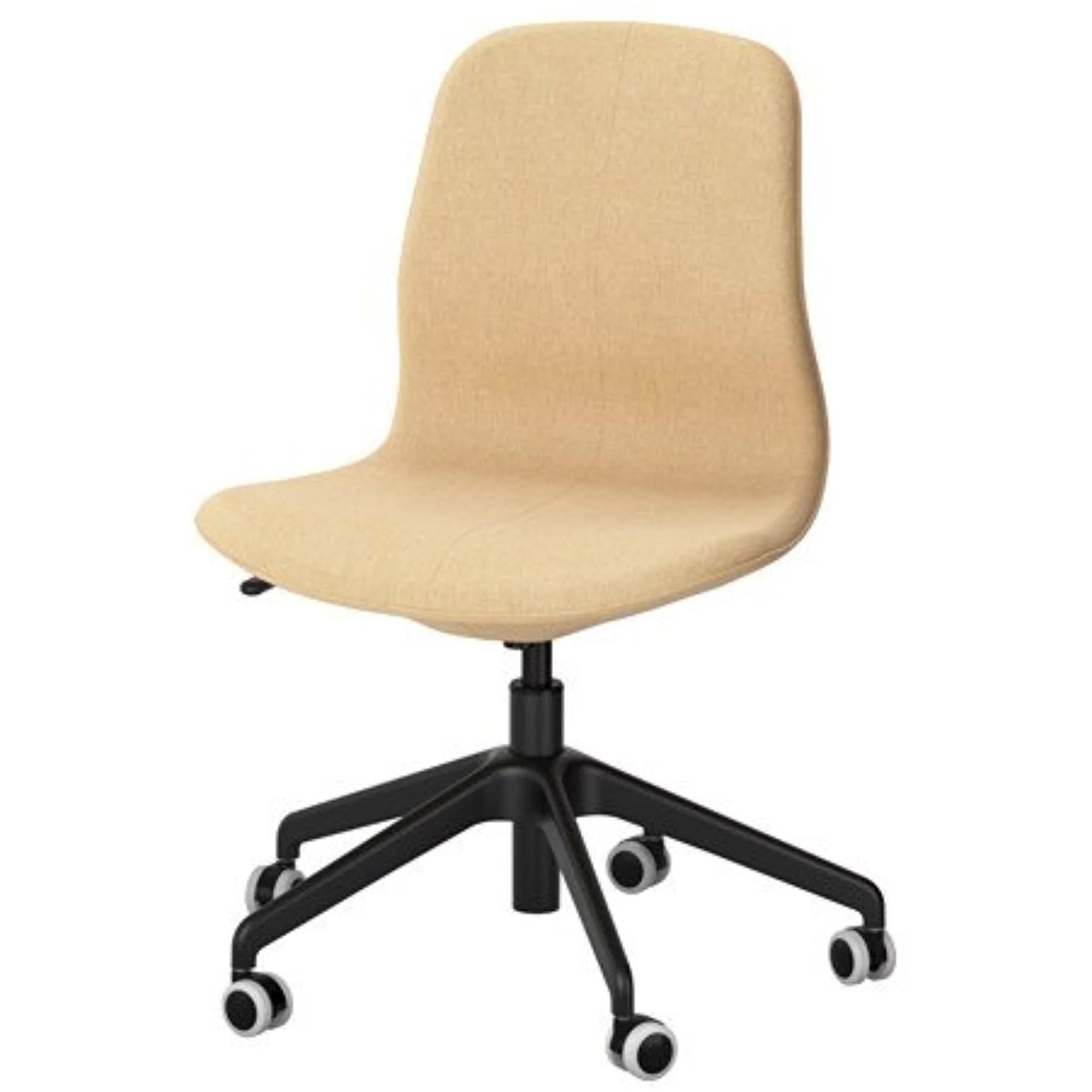 ab swivel chair wheelchair icd 10 ikea gunnared yellow black 18386 232317 206 walmart com