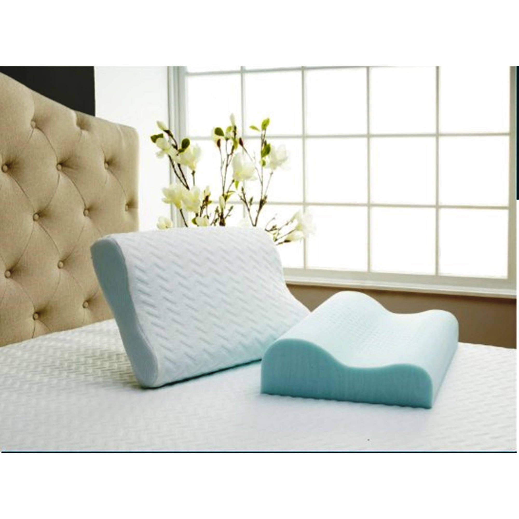 isotonic serene comforttech foam pillow traditional side sleeper or contour