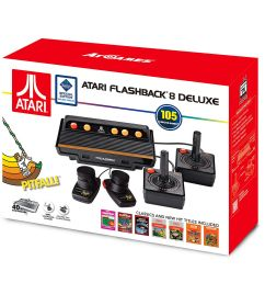 atari flashback 8 deluxe with 105 games 2 wired controllers and 2 wired paddles walmart com [ 1500 x 1500 Pixel ]