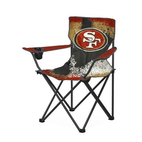 NFL San Francisco 49ers Tween Camp Chair  Walmartcom