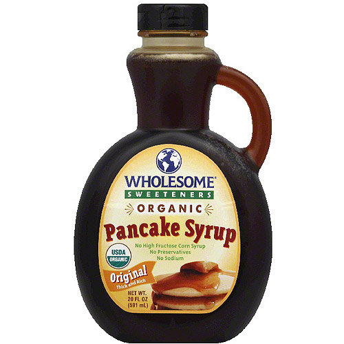 Wholesome Sweeteners Organic Original Pancake Syrup 20 fl