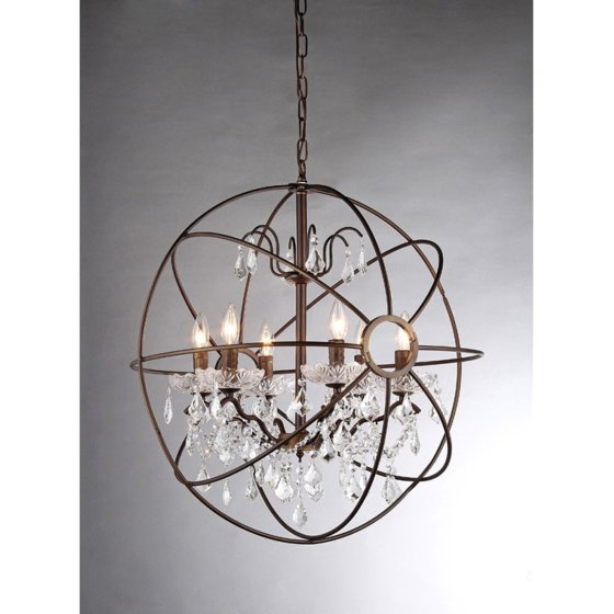 Warehouse Of Tiffany Edwards Rl8049 Crystal Chandelier