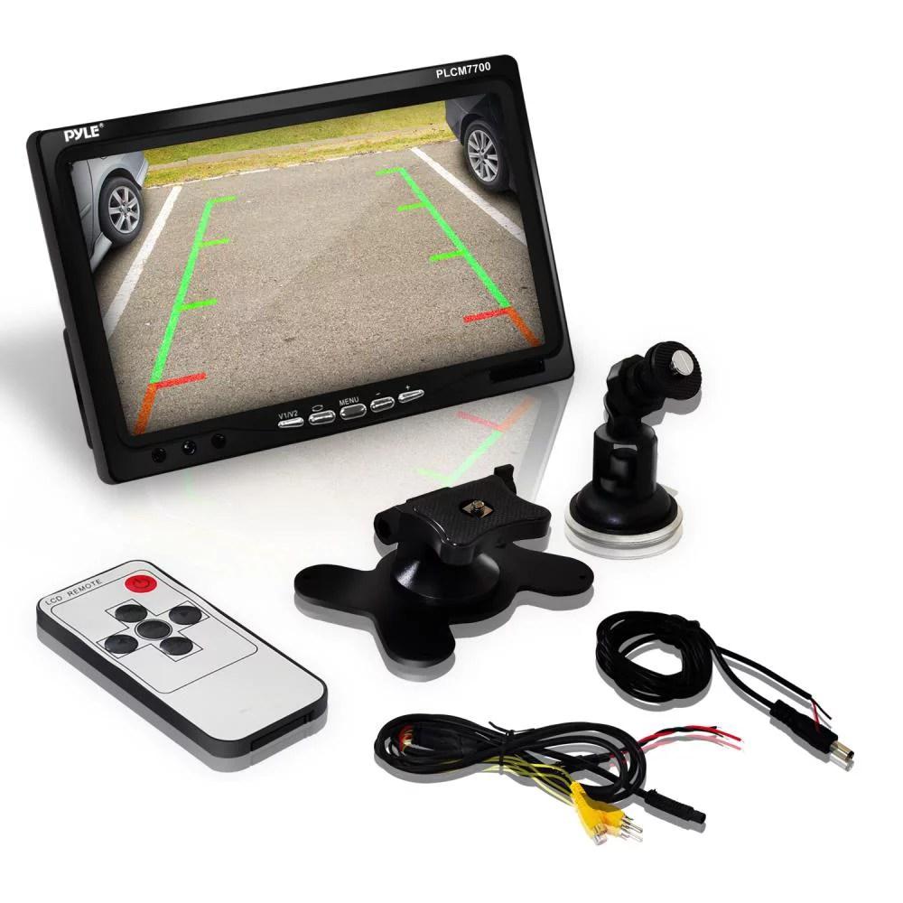 hight resolution of pyle plcm7700 backup rear view car camera screen monitor system pyle plcm7700 wiring diagram