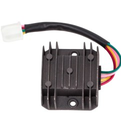 complete electrics wiring harness with wire loom magneto stator for gy6 125cc 150cc atv quad walmart com [ 1000 x 1000 Pixel ]