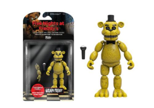 Articulated Action Figure Five Nights At Freddy S Gold