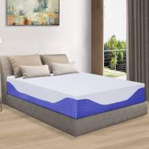 Granrest 12 Hd Memory Foam Mattress Cobalt Blue
