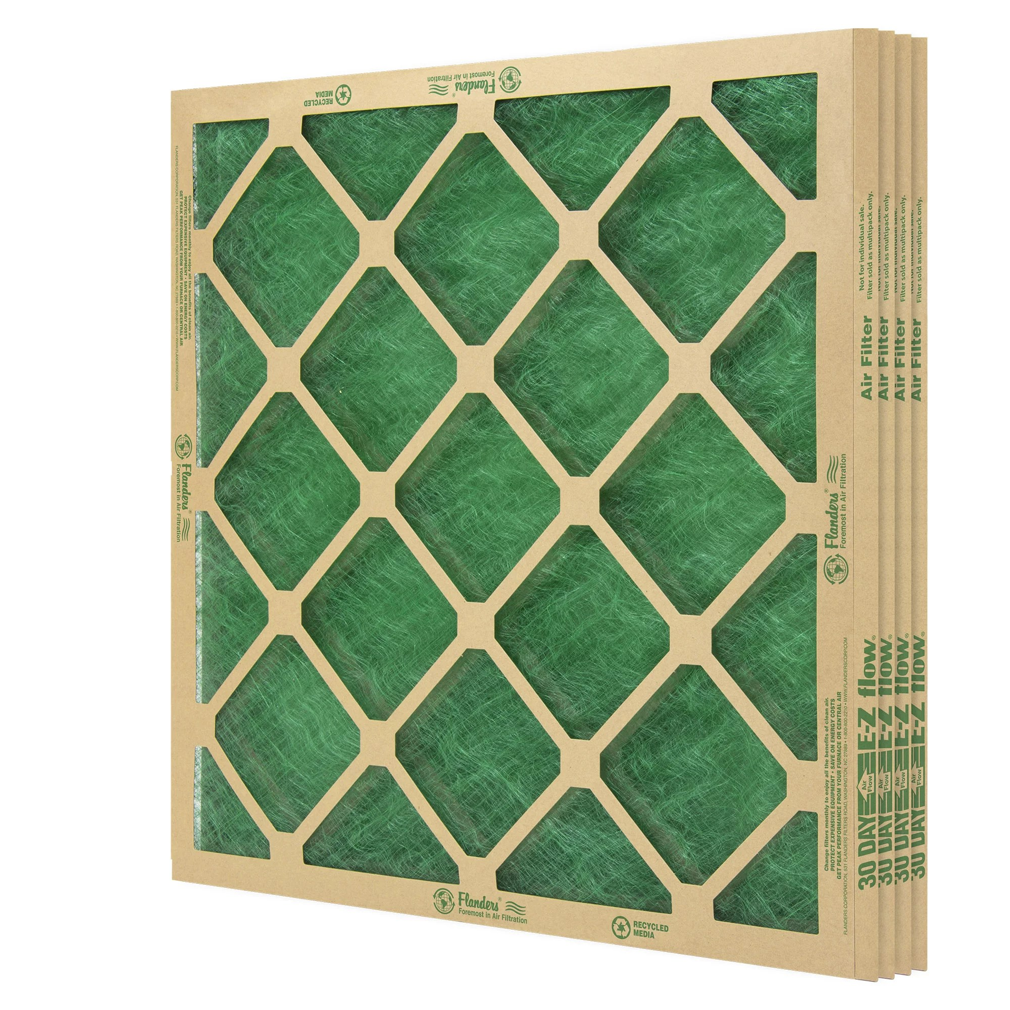 hight resolution of flanders 4 filters 14 x 20 x 1 precisionaire nested glass air filter walmart com