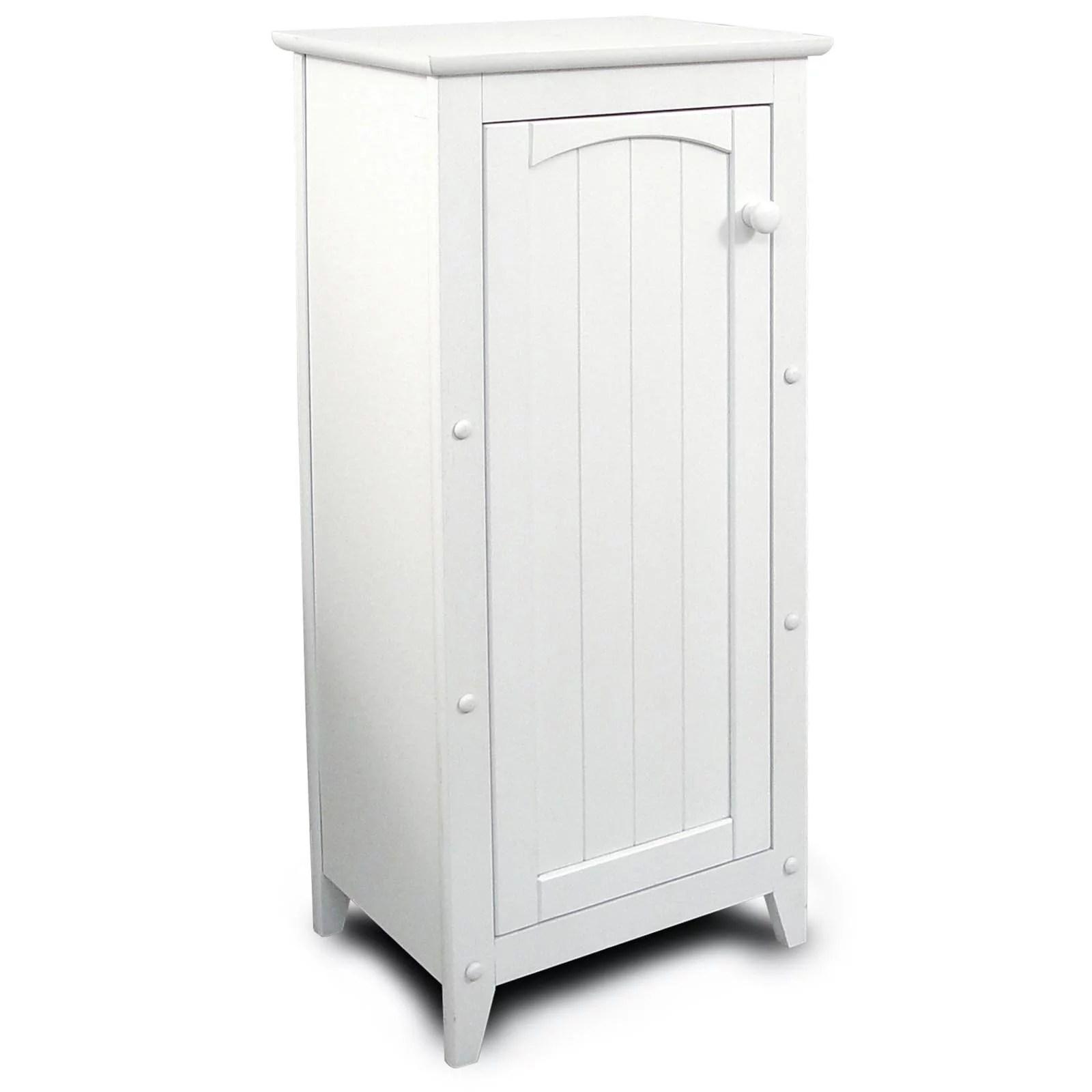 Catskill White All Purpose Kitchen Storage Cabinet Walmart Com