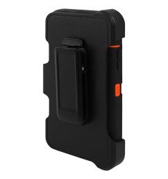 tpu rotary belt clip full body protective phone case black for iphone 6 [ 1100 x 1100 Pixel ]