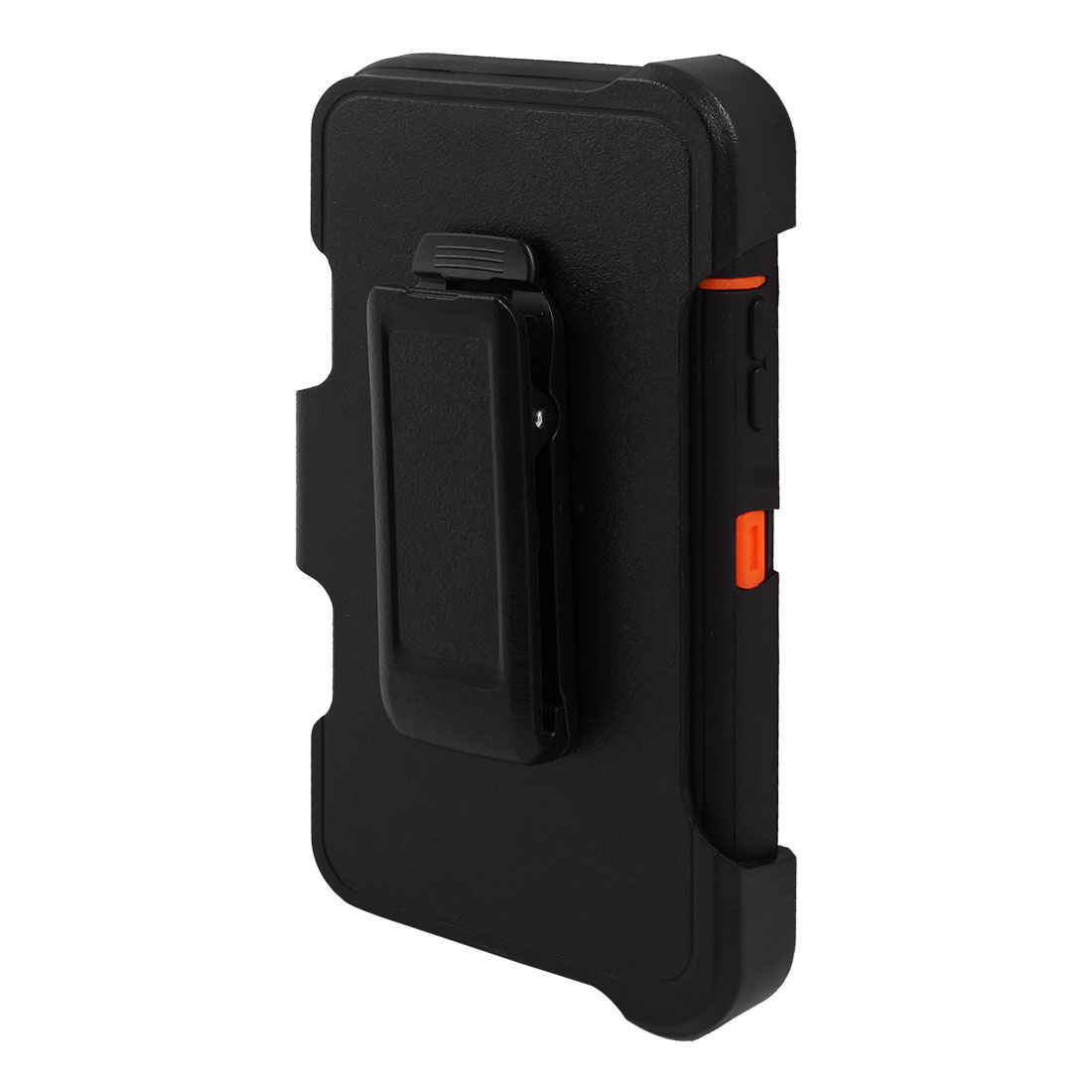 hight resolution of tpu rotary belt clip full body protective phone case black for iphone 6