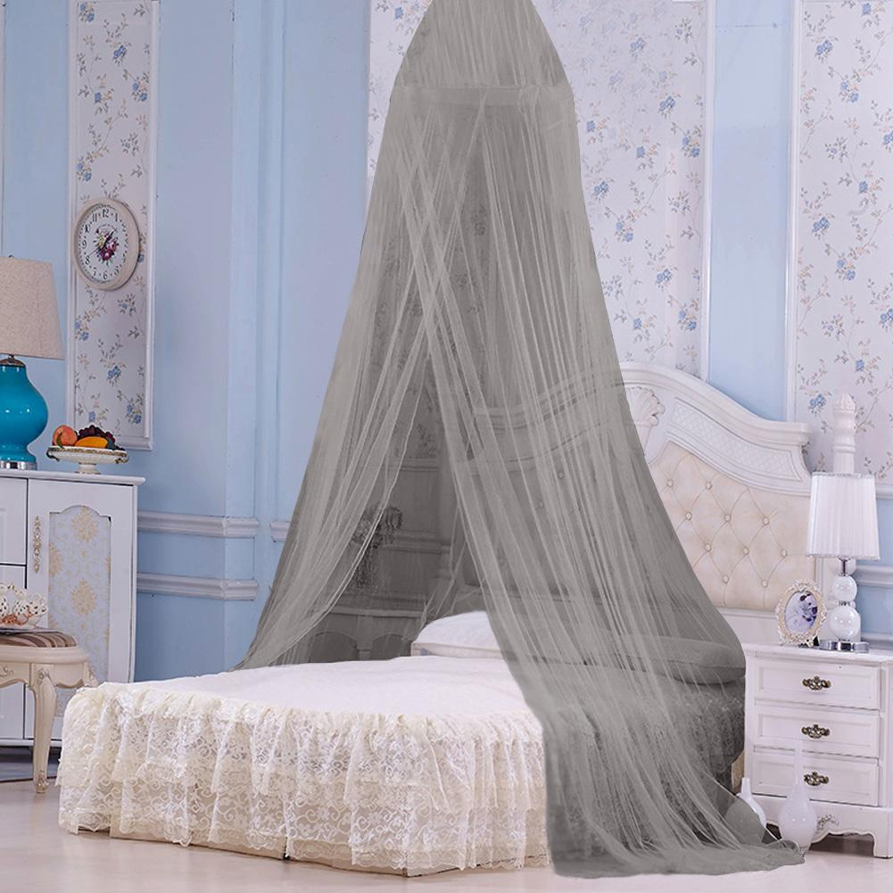 cergrey baby kids round dome bed canopy