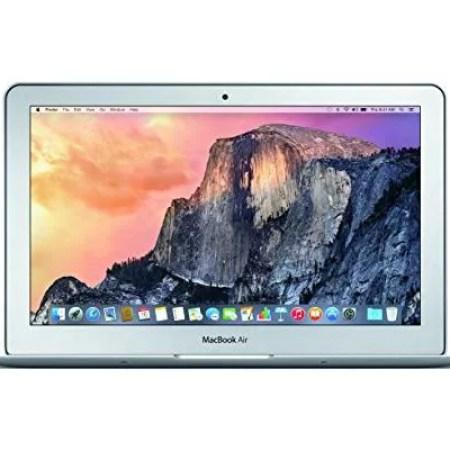 """Apple MacBook Air Laptop 11.6"""", Intel Core-i5, Intel HD Graphics 6000, 128GB SSD Storage, 4GB RAM, MJVM2LL/A"""