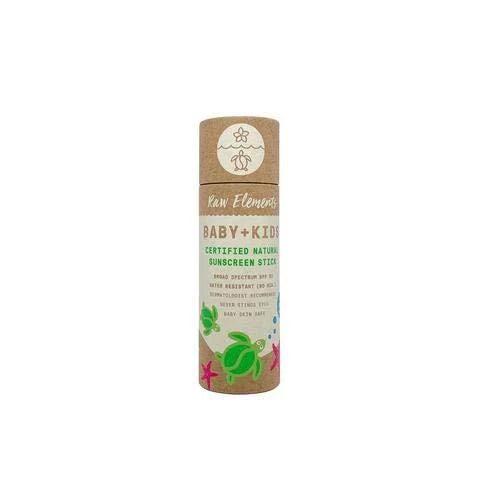 Raw Elements Baby + Kids SPF 30 Organic Sunscreen Lotion ...