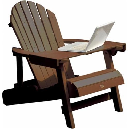 ace adirondack chairs folding 4 less highwood usa ad lapt1 laptop reading table weathered acorn walmart com